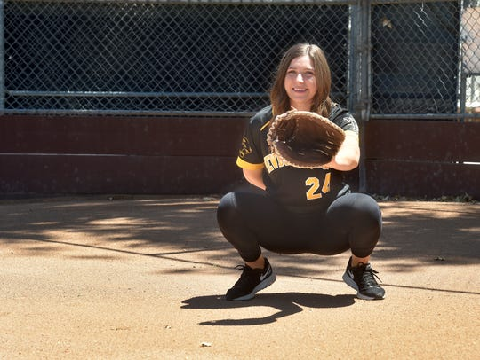 Newbury Park catcher Serena Huchingson is The Star's