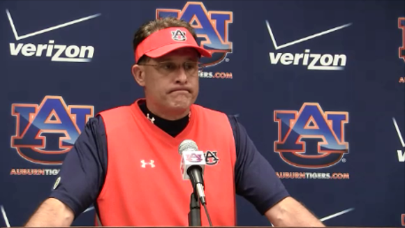 Auburn coach Gus Malzahn will not be attending any