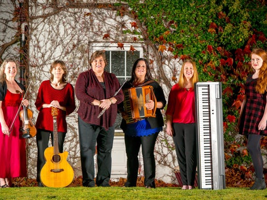 The Grammy-nominated, Irish-American act Cherish the Ladies brings its Christmas show to The Grand in Wilmington Dec. 16.