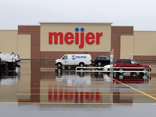 A preview of the new Meijer store on Friday, May 11,