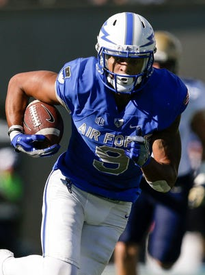 Air Force WR Jalen Robinette  led the country in yards per catch in 2016.