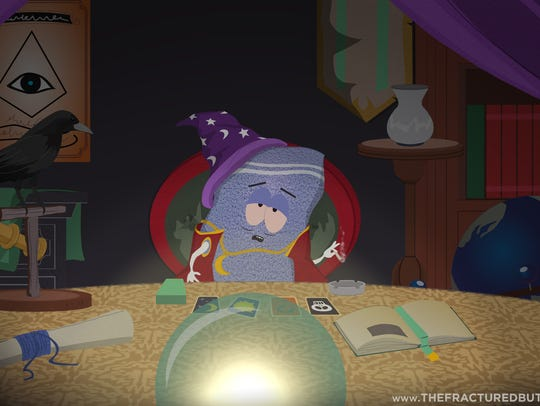 An image from the upcoming video game 'South Park: