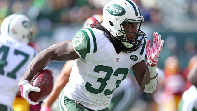 The Jaguars defense figures to be much easier matchup for Jets RB Chris Ivory, who was held to 17 yards rushing last week.