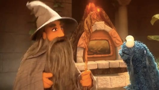 'Sesame Street' has just released a 'Lord of the Rings' parody.