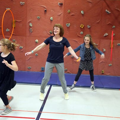 Cheryl Chase, a South Colby Elementary physical education