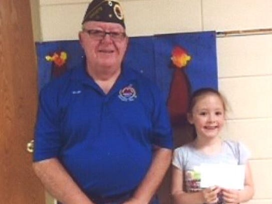 Bob Gamble, AMVETS Post 51 vice-commander, poses with