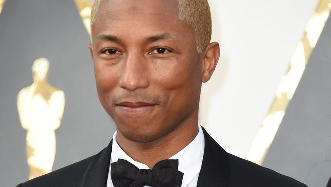 Pharrell Williams is writing original music for the movie 'Hidden Figures,' which is about Katherine Johnson, a black NASA aerospace technologist.