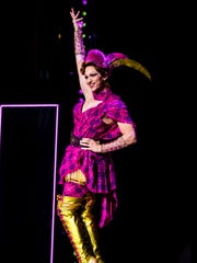 Gregg Barnes designed both costumes and footwear for the cast of 'Kinky Boots.'