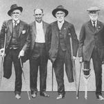 """There were many amputees among Confederate veterans. Photo from cover of """"Phantom Pain."""""""