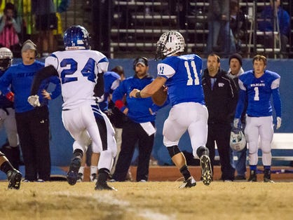 Josh Ladowski was named North Piedmont Conference offensive player of the year.
