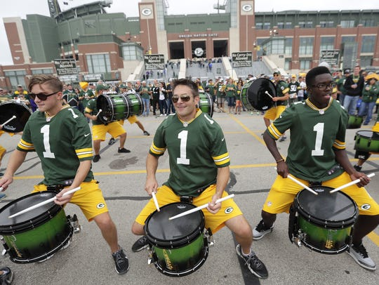 The Lambeau Field parking lot will be a busy place