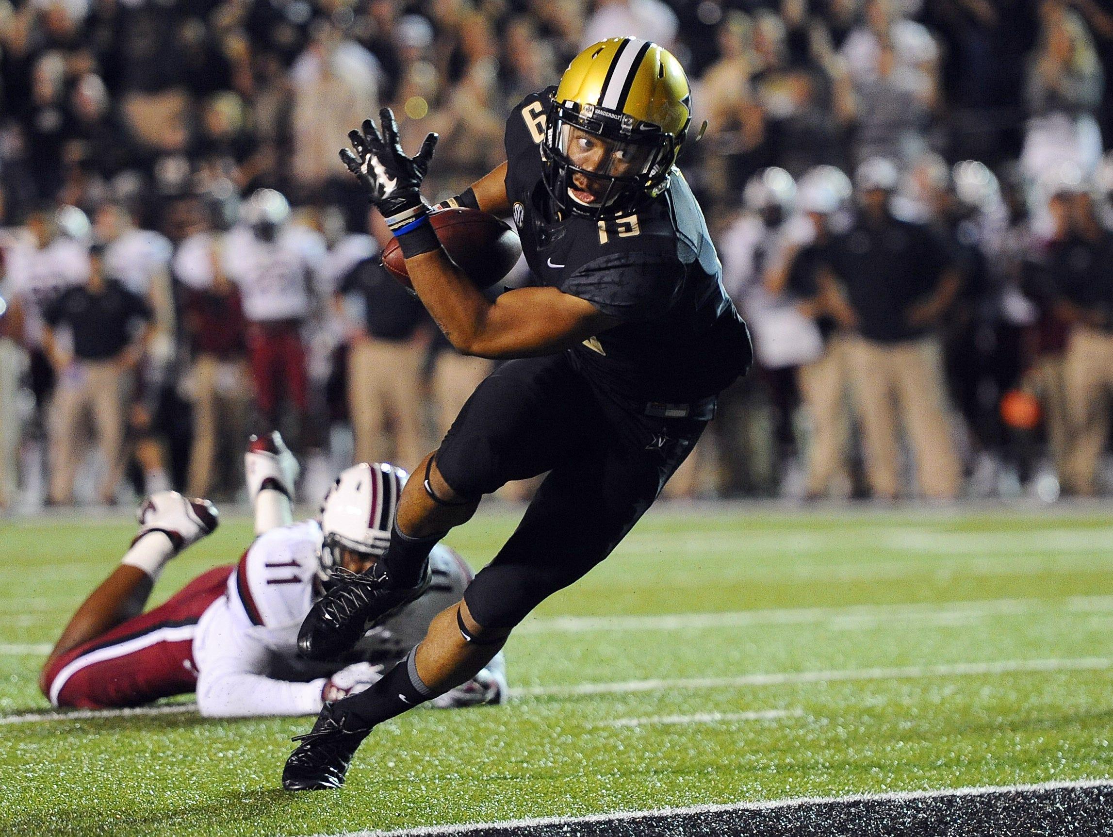 C.J. Duncan returns as Vanderbilt's most productive wide receiver.