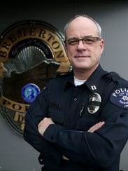 Bremerton Police Department Capt. James Burchett is the new interim police chief.
