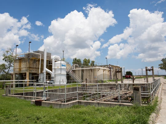 Greenwood Wastewater Treatment Plant's bar screens show the age of plant, which faces major upgrades or closure. Residents want the Greenwood plant closed because of his foul history of flooding and septic odors.