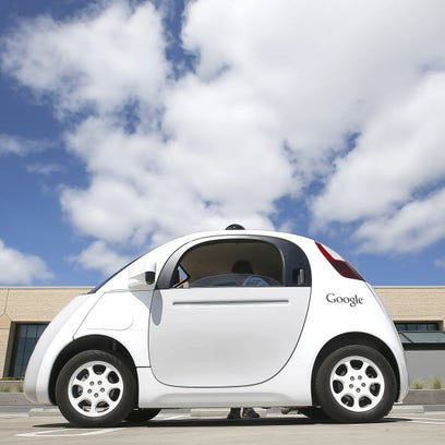 Google's latest self-driving car report addresses the pod-like vehicle's recent run-in with the police.