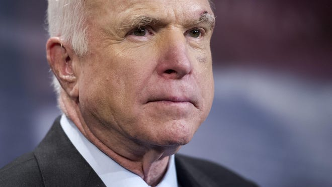 Sen. John McCain was a war hero.