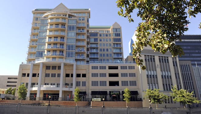 2007: Palladio Built in 2007, the 13-story, 92-unit Palladio was sold out in 2011. Although it had its financial troubles, it is now touted as a success for mixed retail-residential use in downtown Reno.
