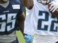 Titans cornerback Perrish Cox is an option to return punts, coach Mike Mularkey indicated.