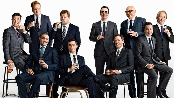A piece by 'Vanity Fair' entitled, 'Why late-night television is better than ever,' sparks outrage.