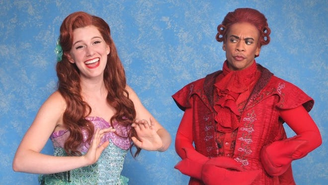 "Contributed photo Alison Bagli and Lawrence Cummings starred in the ""The Little Mermaid,"" presented by Cabrillo Music Theatre."
