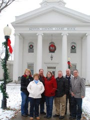 The Independence Christmas Walk committee in 2013 includes,