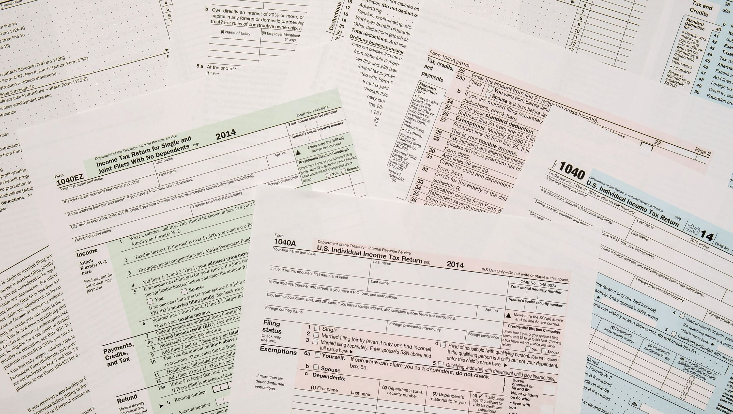 10 tax forms you need to know before you file