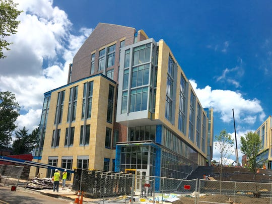 The new Rutgers Academic Building is scheduled to open Sept. 6 in New Brunswick.
