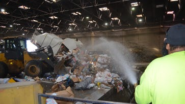 Transfer station sees increased trash load