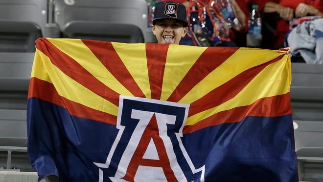 Arizona Stadium in Tucson.