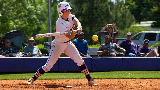 LSUE sophomore third baseman Mima Doucet led the nation in doubles with 29, breaking the LSUE single-season record.