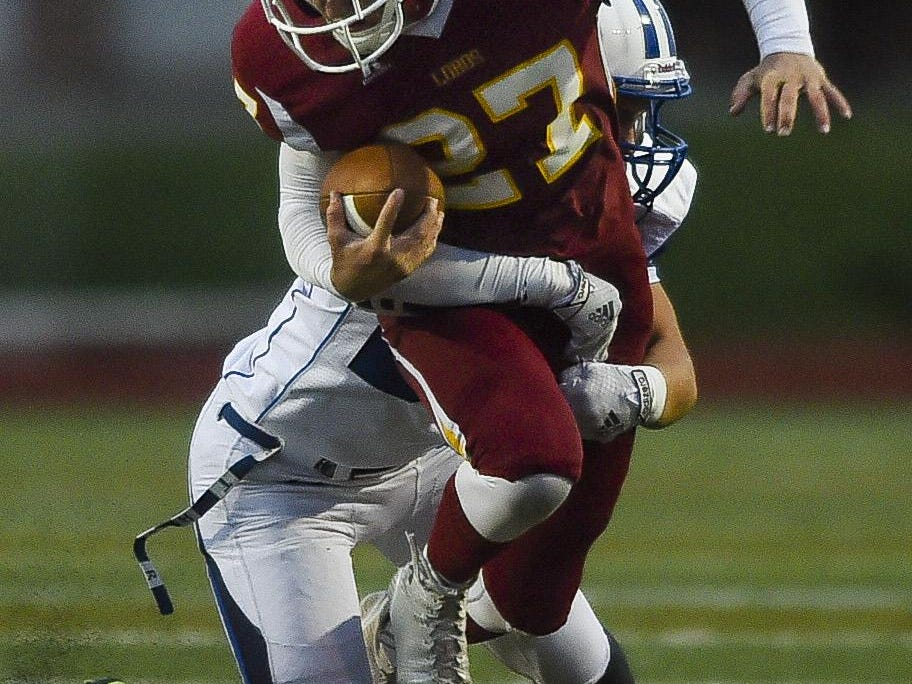 Rocky Mountain's Cade Hairgrove leads all Class 5A running backs with seven rushing touchdowns.