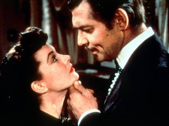 """Clark Gable and Vivian Leigh star in the epic drama """"Gone With The Wind.""""  The classic film will be rereleased in theaters, for a limited engagement, to mark its 80th anniversary."""
