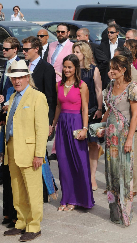 Pippa, Nico, her parents, and brother, Prince Harry