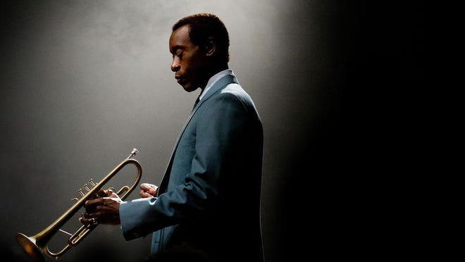 """Don Cheadle stars as jazz great Miles Davis in """"Miles Ahead."""" Catch the movie on opening night Friday and then head over to B Sharp's Jazz Cafe for a live """"Afterhang"""" concert of Miles music."""