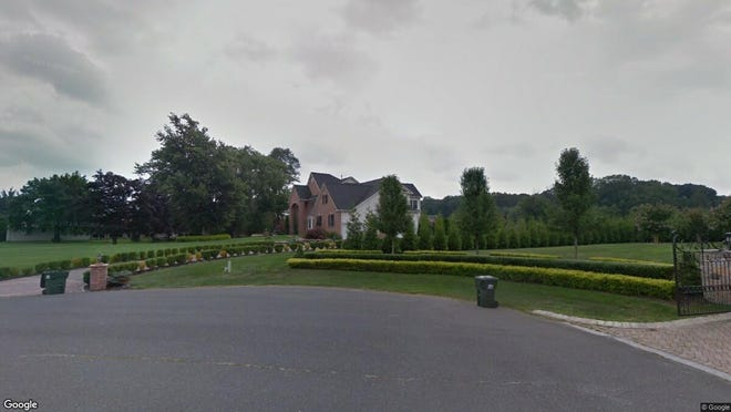 This Google Street View image shows the approximate location of 10 Lebers Ln in Millstone. The property at this address changed hands in May 2019, when Richard and Dorothy Gerbounka bought the property from Barry and Sandra Facen for $850,000.
