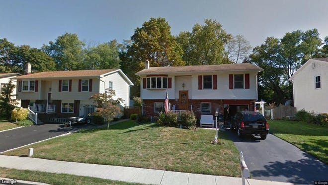 This Google Street View image shows the approximate location of 56 Walnut St in Farmingdale. The property at this address changed hands in May 2019, when Lesniewski,Jacob M&Hunt,Elizabeth,J bought the property from D'albero, Ernest, J, Etal for $357,500.