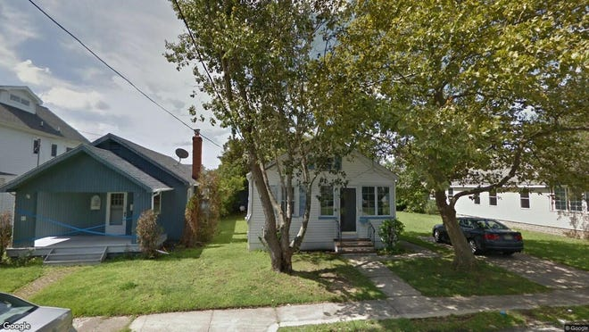 This Google Street View image shows the approximate location of 53 Rogers Ave in Manasquan. The property at this address changed hands in May 2019, when Douglas and Kellylyn Gaffney bought the property from Lorraine L Chrone for $585,000.