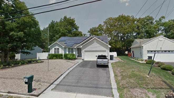This Google Street View image shows the approximate location of 176 Neptune Drive in Stafford. The property at this address changed hands in April 2019, when Michael A Arena bought the property from Matthew Bruschi and Victoria Haire for $242,000.