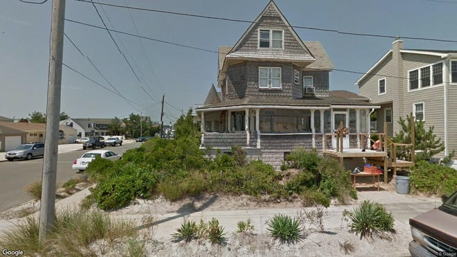 This Google Street View image shows the approximate location of 315 S Ocean Ave in Seaside Park. The property at this address changed hands in May 2019, when Leonard W and Diane M Light bought the property from Beach Sail LLC for $1,600,000.