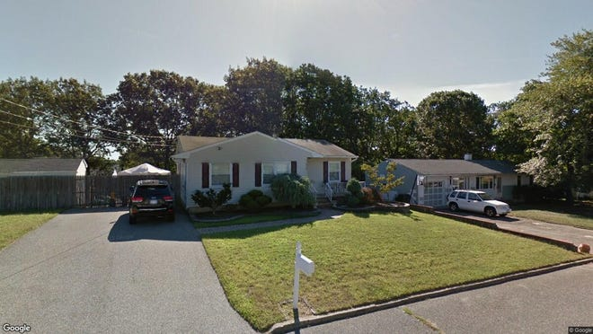 This Google Street View image shows the approximate location of 829 Demont Street in Toms River. The property at this address changed hands in April 2019, when Timothy S Slickers bought the property from Brian and Tiffany Garnett for $258,000.