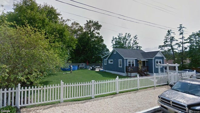 This Google Street View image shows the approximate location of 3105 Thistle Ave. in Toms River. The property at this address changed hands in April 2019, when Mary P Clark bought the property from Michael F and Samantha Partyka for $205,000.