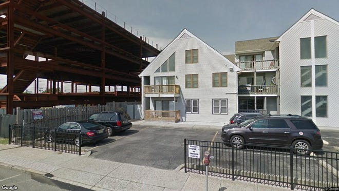 This Google Street View image shows the approximate location of 42 Hamilton & 55 Webster in Seaside Heights. The property at this address changed hands in May 2019, when Eileen Breen bought the property from James Costello and Dana L Velardo for $220,000.