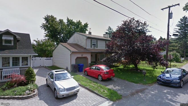 This Google Street View image shows the approximate location of 73 Cedarhurst Road in Brick. The property at this address changed hands in April 2019, when  James Iacarrino  bought the property from  Robert J Trumble  for $309,000.