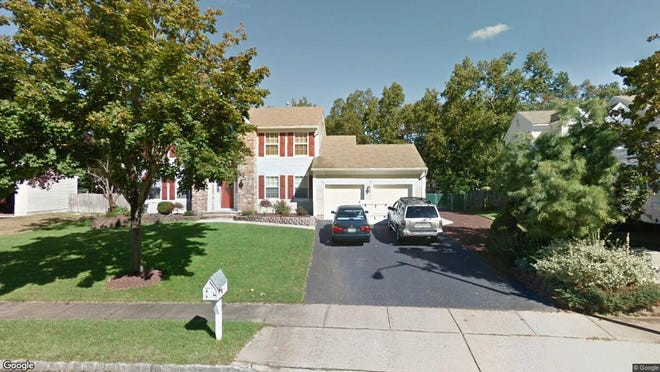 This Google Street View image shows the approximate location of 2037 Brookewood Drive in Toms River. The property at this address changed hands in May 2019, when David and Devorah Trainer  bought the property from  Robert J Amatucci Jr{dot}  and  Donna M Amatucci   for $518,000.