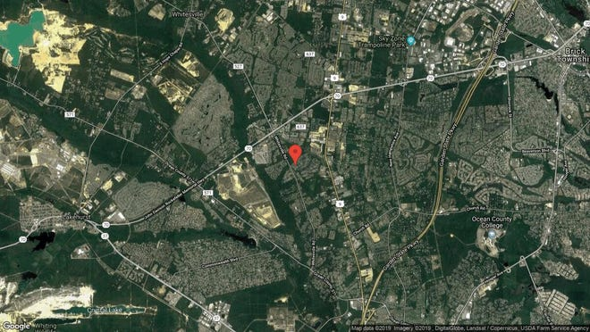 This aerial photo shows the approximate location of 182 Grande Woodlands Way in Toms River. The property at this address changed hands in April 2019, when Yaakov and Elisheva Birnbaum  bought the property from Scott A and Frances L Carlson  for $460,000.