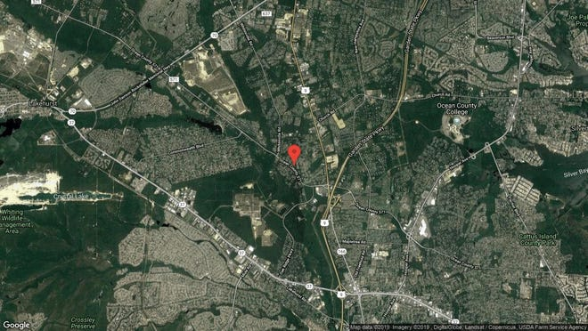 This aerial photo shows the approximate location of 14 Sweet William Court in Toms River. The property at this address changed hands in April 2019, when  Mary M Giraldi  bought the property from  Daniel J Mcgee  for $100,000.