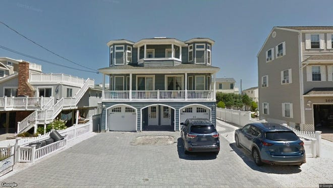 This Google Street View image shows the approximate location of 203 E{dot} 16th St{dot} in Long Beach Township. The property at this address changed hands in April 2019, when Michael and Sirakovsky H Sardo  bought the property from John D and Bernard J Lombardi  for $1,350,000.