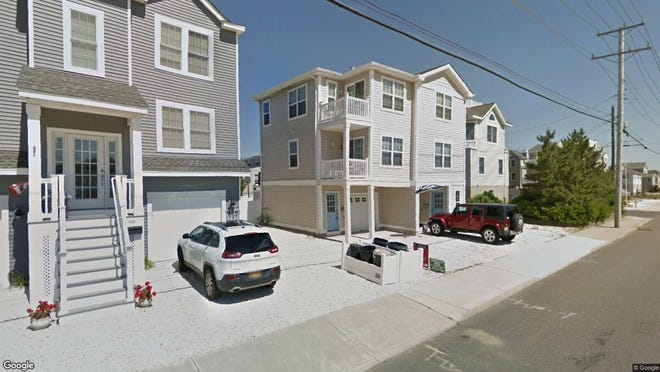 This Google Street View image shows the approximate location of 5504 Long Beach Blvd{dot} in Long Beach Township. The property at this address changed hands in May 2019, when  Patconnie LLC  bought the property from  George Simonka  for $630,000.