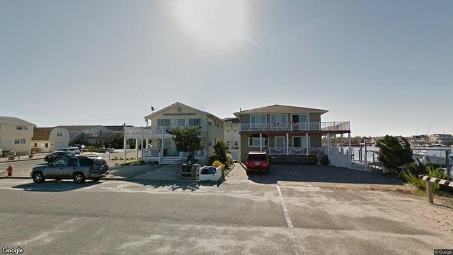 This Google Street View image shows the approximate location of 16 Shore Ave{dot}  Unit 1 in Surf City. The property at this address changed hands in May 2019, when  Donald R Pagano  and  M C Ferlazzo   bought the property from Andrew P and Joan M Mcfadden  for $475,000.