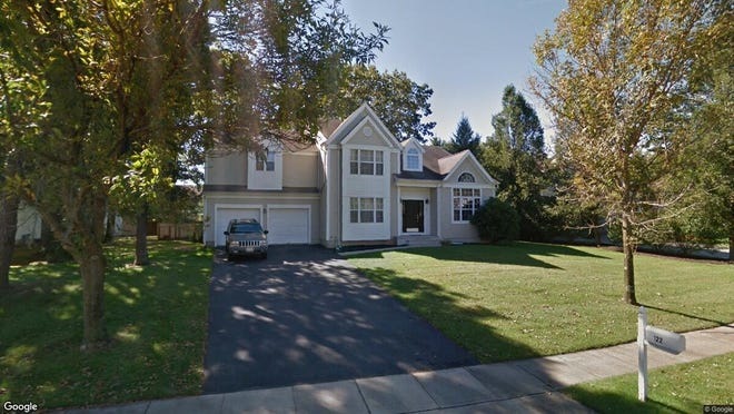 This Google Street View image shows the approximate location of 122 Grande Woodlands Way in Toms River. The property at this address changed hands in March 2019, when Yaakov and Michelle Garber bought the property from Christopher and Nancy Policelli for $550,000.